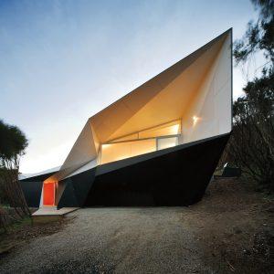 Folding paper architecture