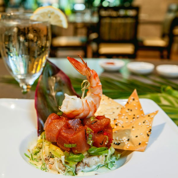 Roberto Banos.Lighten Up With Fresh Seafood At Redwind